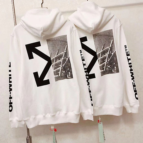 OFF-WHITE ( オフホワイト ) AW19 SPLITTED ARROWS パーカー
