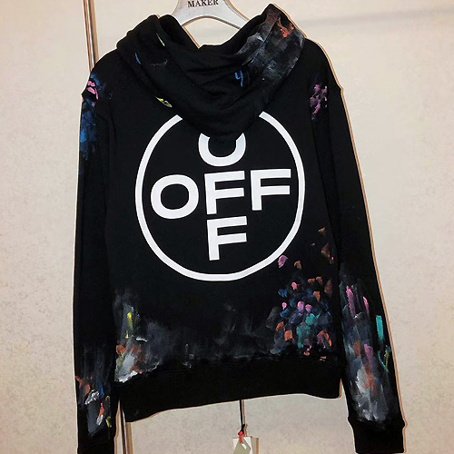 OFF-WHITE ( オフホワイト ) REFLECTIVE paint パーカー