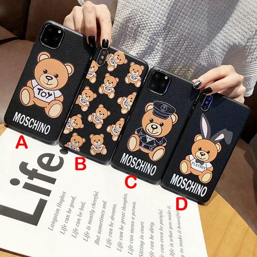 moschino (モスキーノ) TOYS BEAR iphoneケース AW19