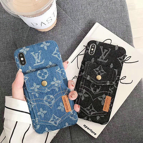 ルイ・ヴィトン (LOUIS VUITTON) IPhone用 jeansタイプ ケース ss19