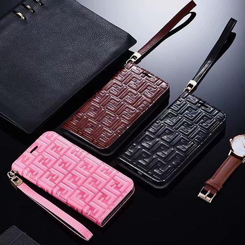 FENDI (フェンディ) IPhone用 Leather case ケース ss19