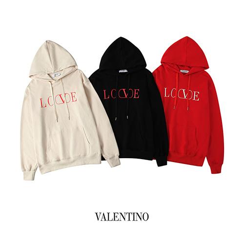 valentino ( ヴァレンティノ ) love ロゴ パーカー