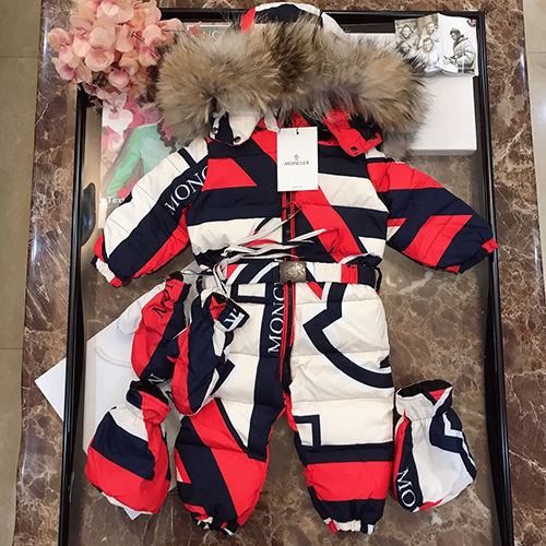 moncler ( モンクレール ) キッズ ダウン セットアップ パロディ 子供服 AW19