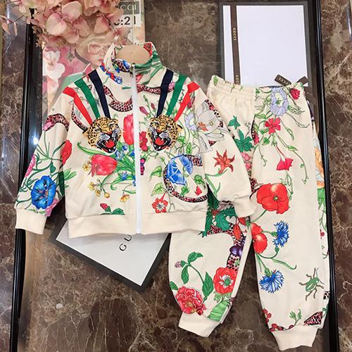 gucci (グッチ)full body flower セットアップ AW19 パロディ 子供服