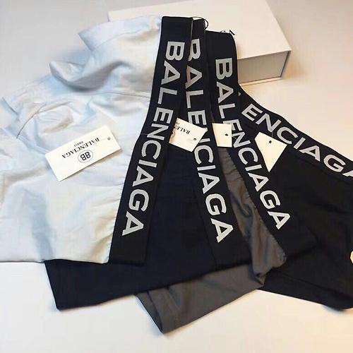 BALENCIAGA ( バレンシアガ ) ボクサーパンツ 4個セット ①