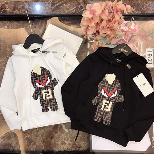 FENDI (フェンディ) New children's パーカー ss19 ブランド パロディ 子供服