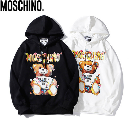 Moschino (モスキーノ) digital direct spray printing パーカー AW19