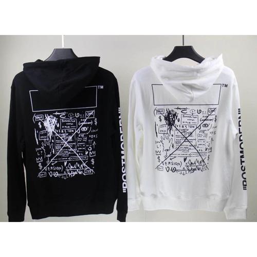 オフホワイト ( offwhite ) ×ジャン=ミシェル・バスキア (Jean-Michel Basquiat)コラボパーカー