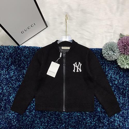gucci (グッチ)× NEW YORK YANKEES ( ニューヨークヤンキース ) ジャケット AW19 パロディ 子供服