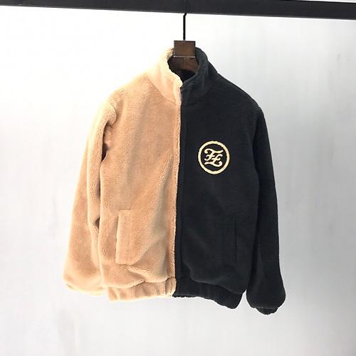 FENDI (フェンディ) Wool Fleece Sherpa Jacket ウールジャケット AW19