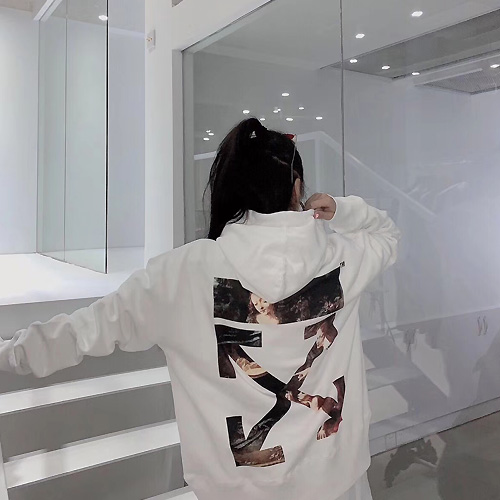 OFF-WHITE ( オフホワイト ) × ルーブル美術館 コラボパーカー 2 AW19