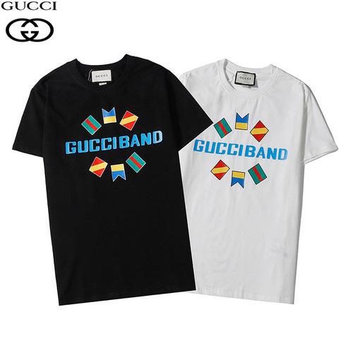 gucci (グッチ)GUCCI BANDオーバーサイズ プリントTシャツ