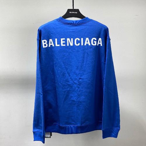 BALENCIAGA ( バレンシアガ ) Round Neck BLUE colorトレーナー