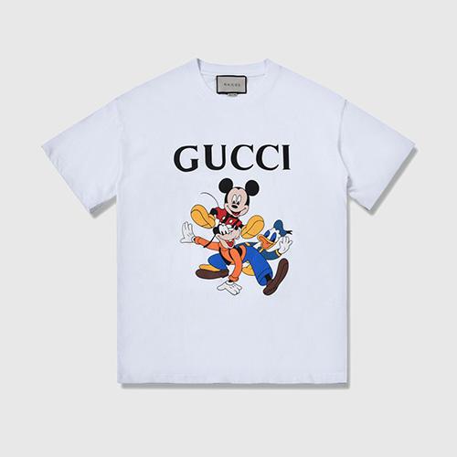 gucci (グッチ)× Mickey Mouse  (ミッキーマウス) ディズニーコラボTシャツ 2020SS