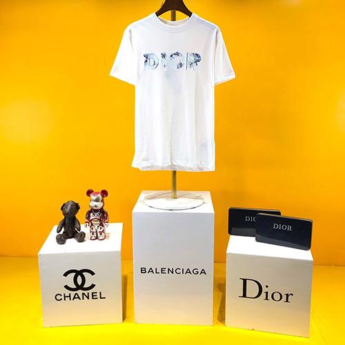クリスチャンディオール ( Christian Dior )  ×  Daniel Arsham (ダニエル・アーシャム) コンパクト コットン Tシャツ ss20